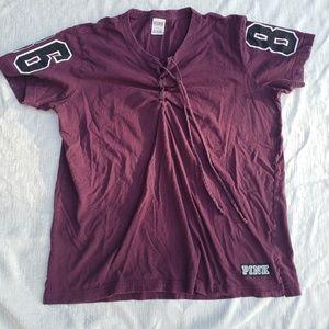 4/$25 sale VS maroon Jersey top (k)
